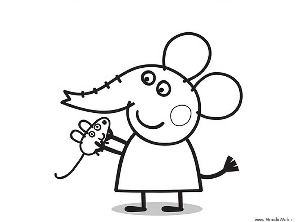 Coloriage peppa pig gratuit dessin a imprimer 222