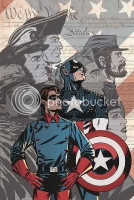 Capitão América & Bucky Barnes na II Guerra
