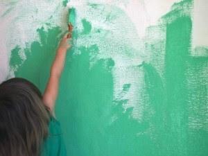 materiali e tecniche per dipingere le pareti di casa,imbiancare le pareti di casa,fai da te pitturare le pareti,decorare le pareti,spugnato,