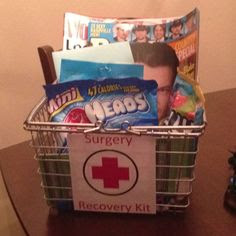 ... Recovery Gift, Boyfriend Gifts Surgery, Handmade Gifts, Gift Idea