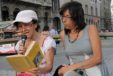 Letture in piazza di Tiziano Terzani