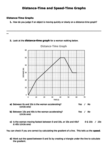 32 Graphing Speed Worksheet Answers - Worksheet Resource Plans