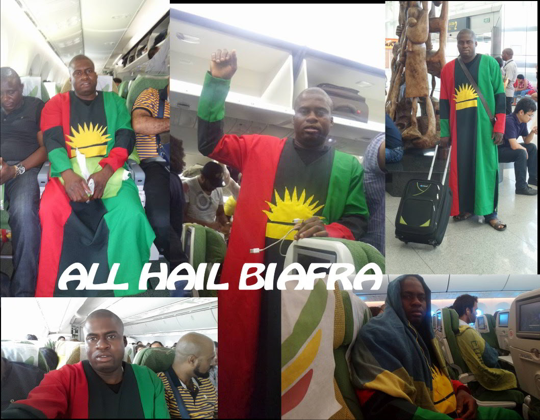 Image result for pictures of Ben Nwabueze and Biafra flag