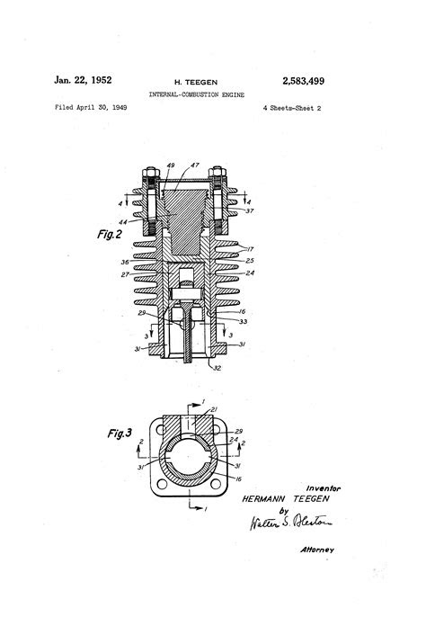 Patent US2583499 - Internal-combustion engine - Google Patents