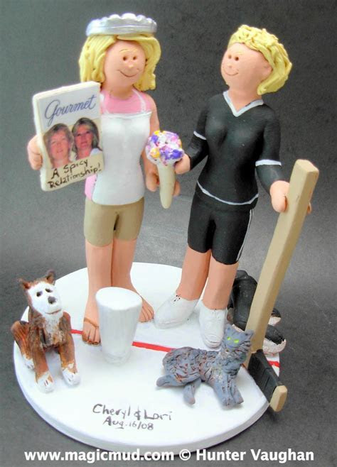 17 Best images about Lesbian Wedding Cake Topper on