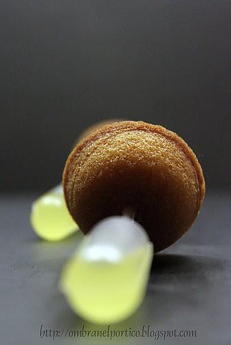 Mini cake con limone e limoncello