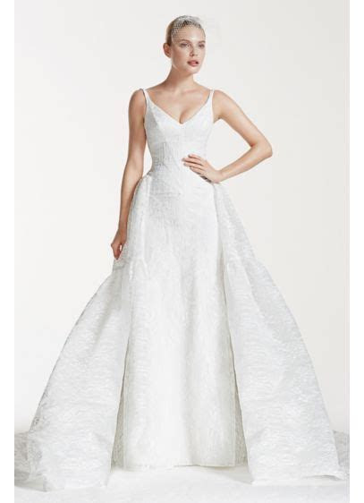 Truly Zac Posen Tank Bonded Lace Wedding Dress   David's