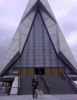 Mike and the US Air Force Academy Chapel