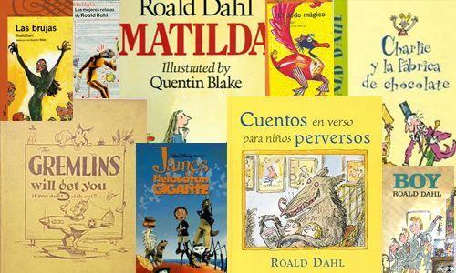 Algunos de los cuentos de Roald Dalh.