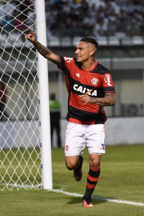 Guerrero Botafogo Flamengo (Foto: André Durão)