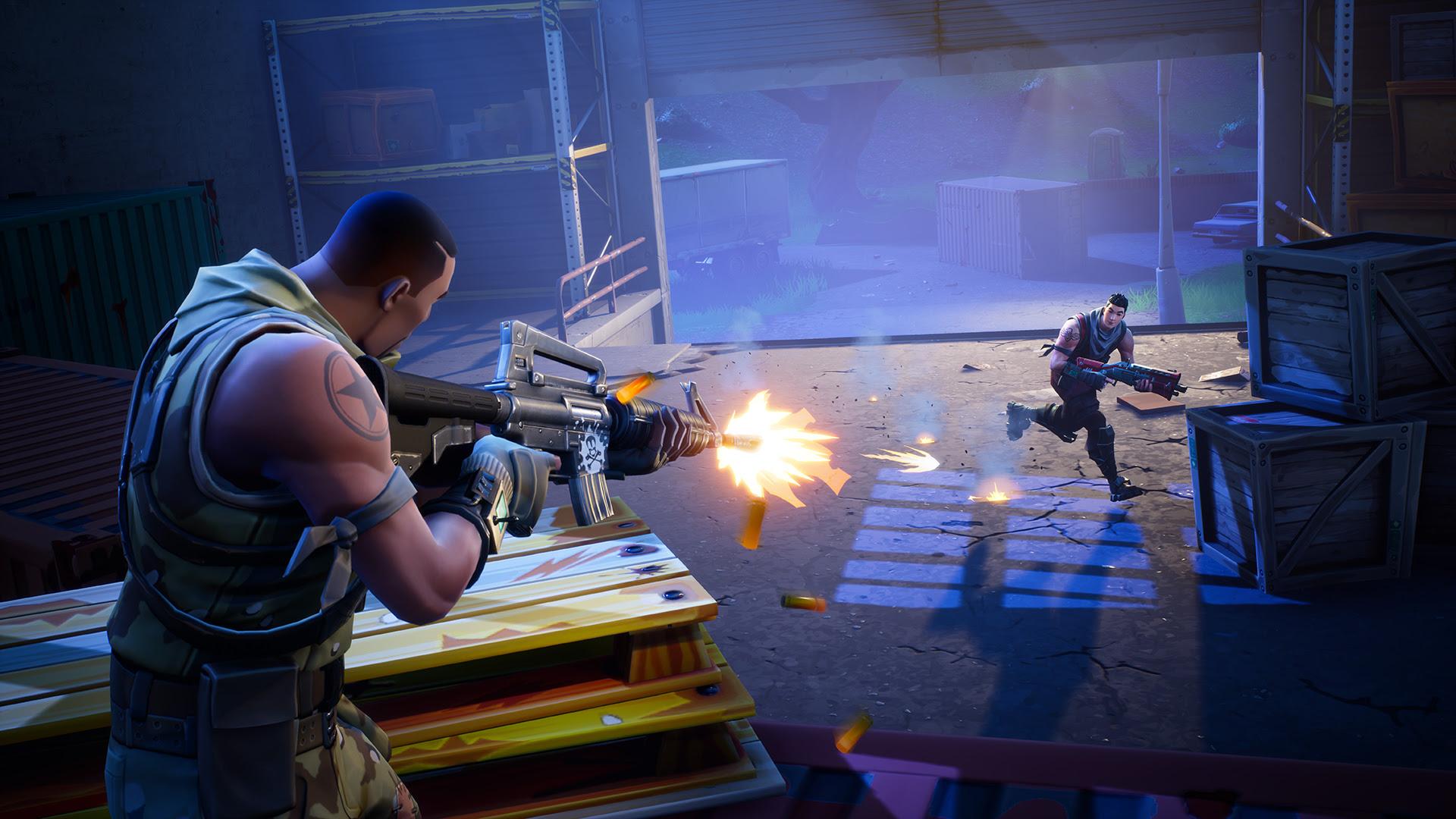 Fortnite's Battle Royale mode goes free next week screenshot