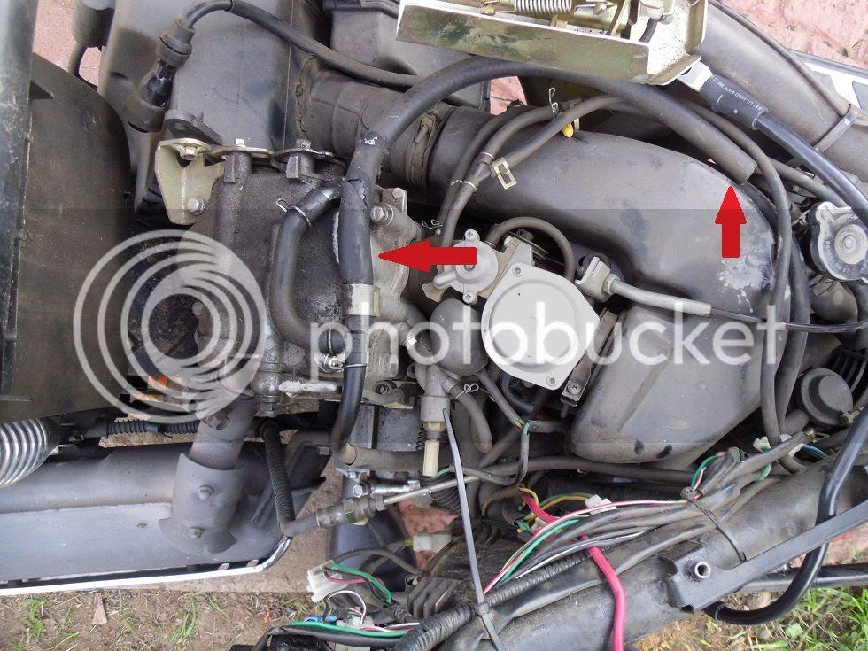 26 50cc Scooter Vacuum Hose Diagram