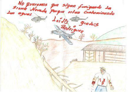 Dibujos Infantiles Desde La Sierra Nevada De Santa Marta
