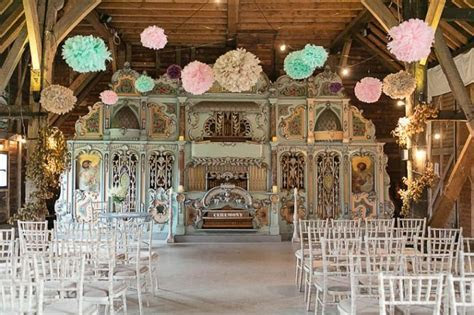 Rustic Romance Wedding at Preston Court with Carousel By