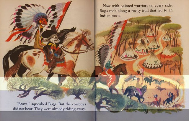 Bugs Bunny & the Indians010