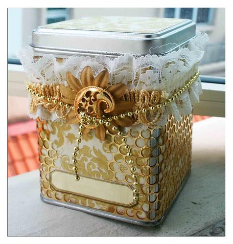 Gold tin
