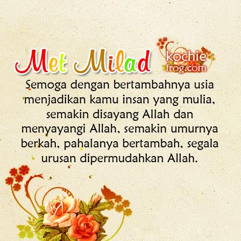 Selamat Ulang Tahun Islam Ucapan Pernikahan