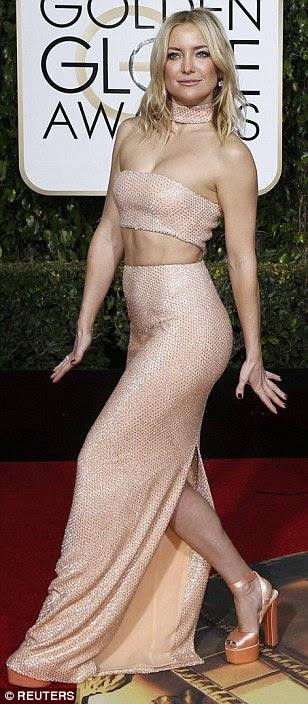 Globurile de aur Kate Hudson in Michael Kors