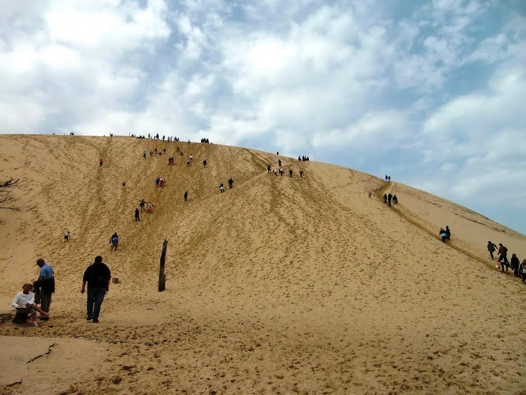 P58gX Dune de Pyla   A new Sahara desert being born   in France! [30 pics]