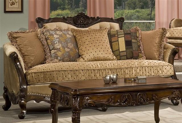 Homey Design - Brignoles Sofa - HD-3305-S - Traditional ...