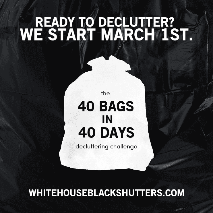 http://www.whitehouseblackshutters.com/40-bags-in-40-days/