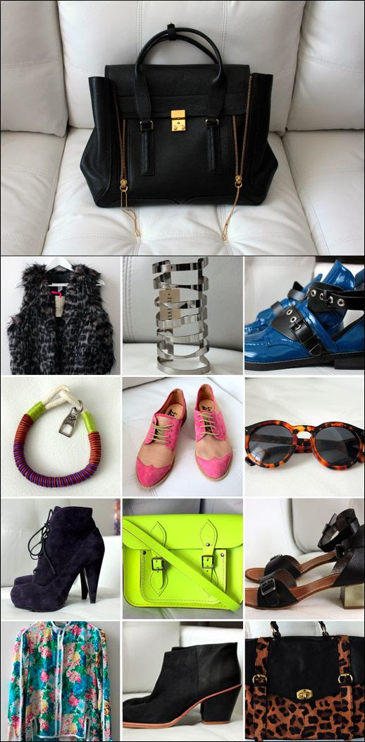 COPIOUS LE FASHION BLOG CLOTHES SHOES ACCESSORIES FOR SALE IILESTEVA LEONARD 11 SUNGLASSES TWO TONE PINK OXFORDS RACHEL COMEY MARS BOOTS FAUX FUR VEST 31 PHILLIP LIM PASHLI SATCHEL LEOPARD PRINT FLATS SILVER CUT OUT CUFF NEON BAG PROENZA BRACELET BALENCIAGA CUT OUT BOOTS PURPLE LACE UP PROENZA BOOTS
