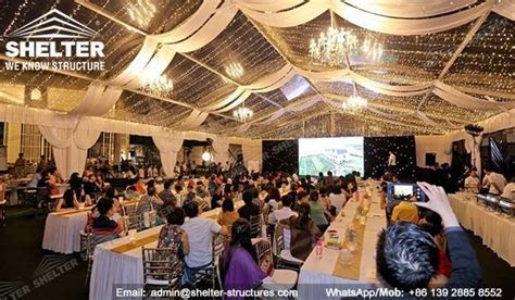 15 x 20 Structure Tent for Gathering   Transparent Gala