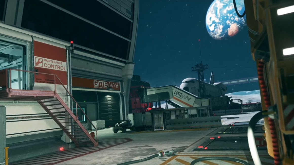Infinite Warfares Reimagined Terminal Map Shown Off In