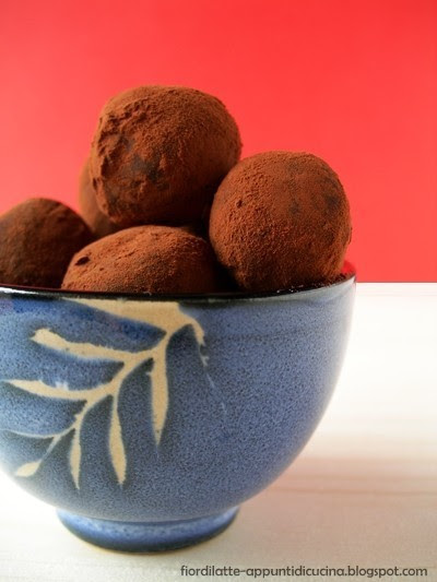 Tartufini al nocciomiele - Walnut-Honey Truffles