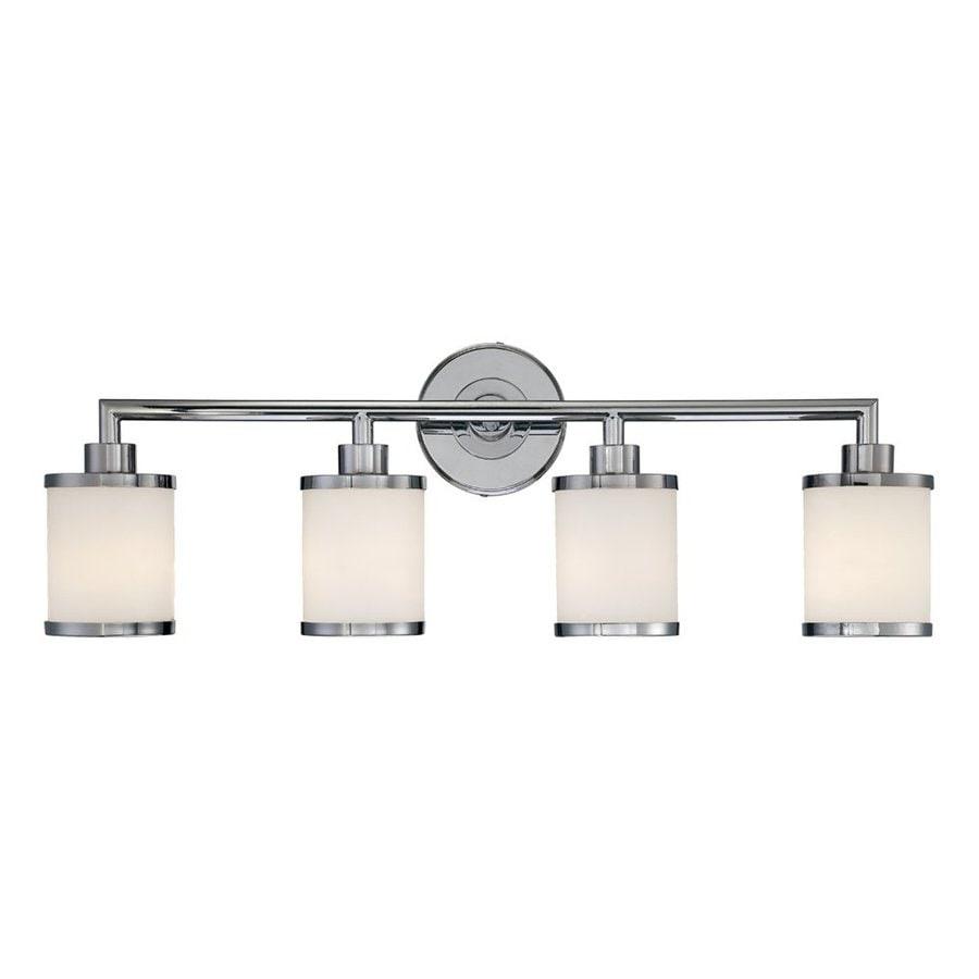 Shop Millennium Lighting 4-Light Chrome Standard Bathroom ...