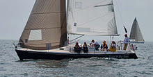 J/105 sailing Figawi race
