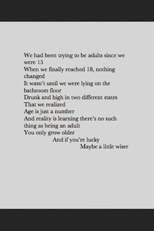 Love Quote Life Quotes Drugs Grunge Writing Youth Sadness Poetry