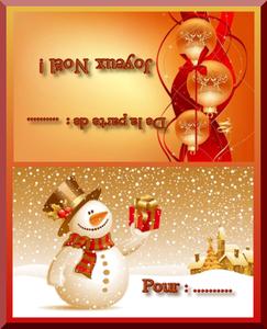 Etiquettes Cadeaux Noël Gratuites à Imprimer Cartes Gratuites