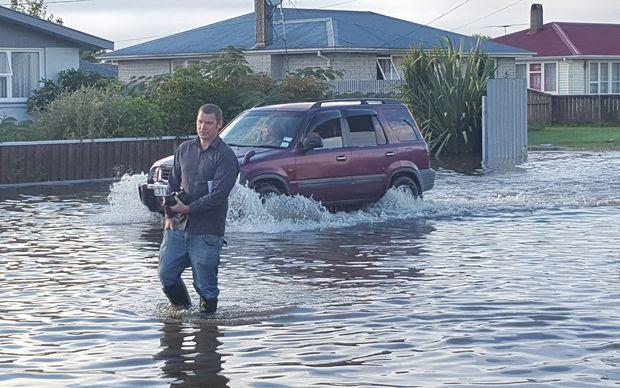 Flooding in Motueka