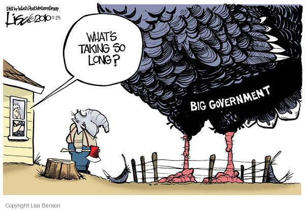 Image result for big government cartoon