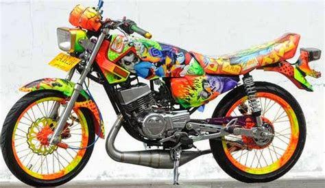 kumpulan modifikasi rx king terbaru motor klasik keren
