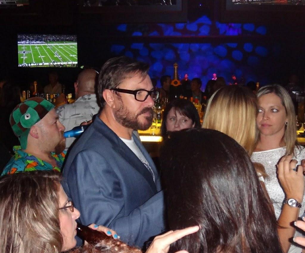 Duran Duran sniger Simon LeBon at The Social in Revel Atlantic Sity 2012