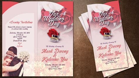 How To Make Creative Wedding Invitations Cover In