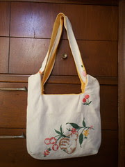 Bend the Rules Charming Tablecloth Bag