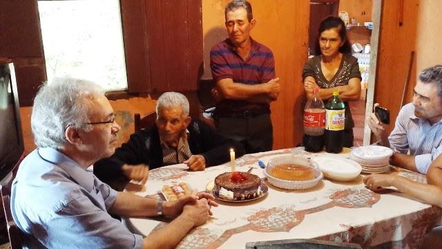 José Nicolau contando casos antigos após o almoço em 16.01.2016