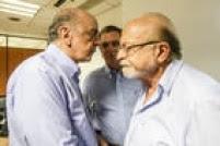 Ao verem a iniciativa de Alckmin, o senador José Serra e o ex-governador Alberto Goldman decidiram ir pessoalmente à sessão de votação de Matarazzo, do diretório do Jardim Paulistano, na Assembleia Legislativa (Alesp). Nenhum dos dois vota no local, mas estiveram na sessão para acompanhar o vereador no dia de votação.