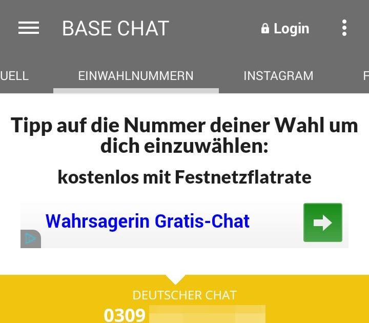 Base Chat Nummer Kostenlos Deutschland - nawna anggun