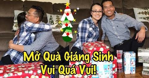Hai Vợ Chồng Mở Quà Giáng Sinh Độc Lạ - Cuộc Sống Ở Mỹ - Co3nho 316