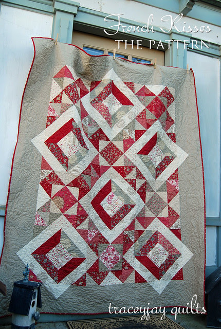French Kisses quilt