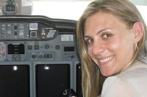 Piloto de avião agrícola que caiu em Santa Vitória do Palmar é internada em Rio Grande Daniela Petuco/Arquivo Pessoal