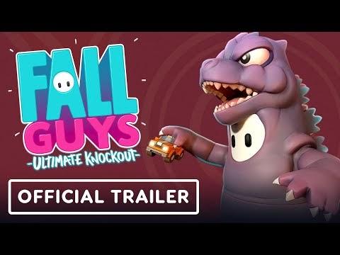 Fall Guys - Official Godzilla Skin Trailer