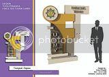 Arsitektur Universitas Widya Mataram Yogyakarta _ FT sculpture signage