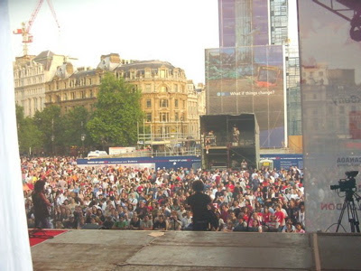 london crowd