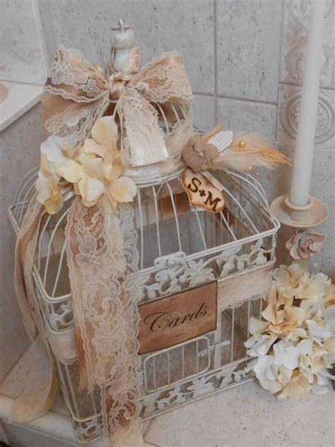 Birdcage Wedding Card Holder / Wedding Birdcage Cardholder