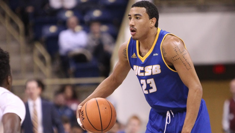 Christian Terrell is one of just five returnees for the Gauchos. UCSB will play at Wyoming and North Dakota State to open the 2018-19 season.
